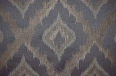 Deuce Beluga Grey & Walnut Ethnic Diamond Heavy Flatweave Upholstery Fabric | eBay