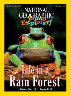 Online! National Geographic Young Explorer Magazine.  Great for computer corner!