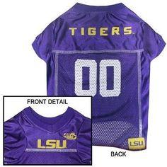 LSU Tigers NCAA Dog Jersey