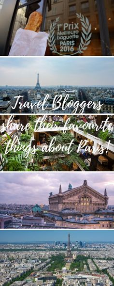 Oui Oui Paris! I'm heading back to this pretty little city in April and have pulled together some recommendations from my fellow Travel Bloggers!