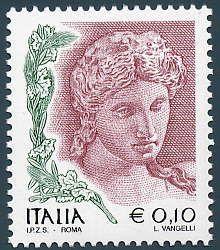 Stamp italia - Proserpina