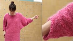 i dont't think it would look good on me :( but i love the color and pattern! free pattern for size M