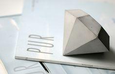Diamant aus Beton, by  oh.beton