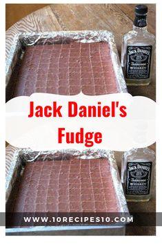 Jack Daniel's Fudge - - Food & Drink that I love - Jack Daniels Chocolate, Jack Daniels Fudge, Fudge Recipes, Candy Recipes, Sweet Recipes, Homemade Chocolate, Chocolate Recipes, Chocolate Chips, Fantasy Fudge