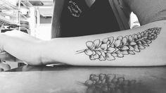 #lupin #tattoo #blackandwhite