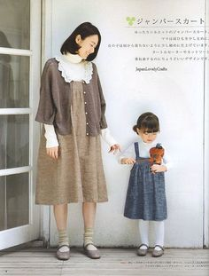 Easy Summer Clothes & Zakka Goods - Japanese Sewing Pattern Book for Mom and Girls