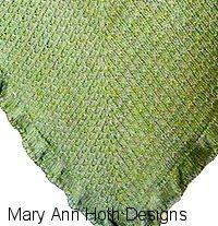 Copycat Kate Middleton Shopping Shawl * Knit Pattern on Ravelry