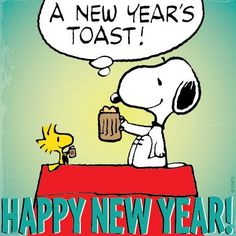 A Charlie Brown Holiday added a new photo. - A Charlie Brown Holiday Snoopy Love, Snoopy Happy New Year, Snoopy Et Woodstock, Happy New Year Meme, Happy New Year Wishes, Happy New Year Greetings, Charlie Brown And Snoopy, Happy Year, Nouvel An Citation