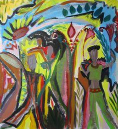 Rowena Perkins Paintings: Acrylics