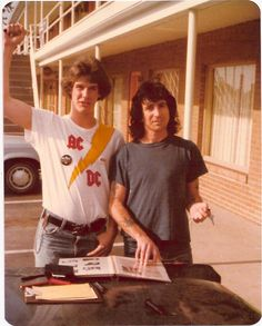 Bon Scott AC/DC, SPRINGFIELD 18 MAI 79