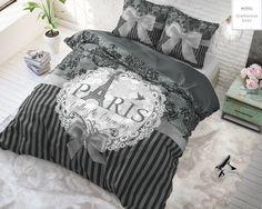 Dreamhouse I Love Paris Zilver - Gratis bezorgen & retour! I Love Paris, Paris Ville, Comforters, Bed Pillows, Pillow Cases, Blanket, Shop, Website, Twin Cribs