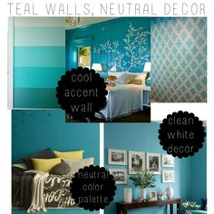 Teal Bedrooms Decorating Ideas Google Search