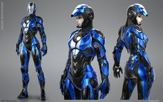 Iron Girl - Mark SRT 1 Barracuda Would you like to see Pepper Potts wearing this? Art by Bogdan Gabelko Iron Man Suit, Iron Man Armor, Marvel Comics, Marvel Dc, Space Opera, Female Armor, Futuristic Armour, Sci Fi Armor, Suit Of Armor