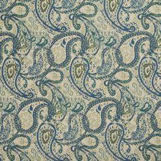 The K5550 upholstery fabric by KOVI Fabrics features Paisley pattern and Aqua or Teal, Dark Blue, Light Geen, White or Off-White as its colors. It is a Tweed, Outdoor and Indoor type of upholstery fabric and it is made of Solution Dyed Acrylic, Outdoor Polyester Blend material. It is rated Exceeds 50,000 Wyzenbeek Rubs which makes this upholstery fabric ideal for residential, commercial and hospitality upholstery projects. This upholstery fabric is 54 Inches inches wide and is sold by the…