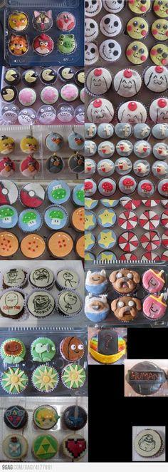 Some amazing cupcakes