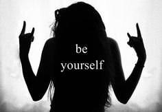 b, be, be yourself, cool