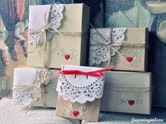 Fawninginlove Packaging Boxes by FawningInLove, via Flickr