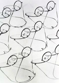 Glasses by Cecil Beaton (George Eastman Collection)