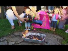 Куклы на пикнике!Поход,кемпинг,палатка!Пупсы в походе