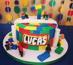 Bolo Lego: 50 Ideias de Decoração Incríveis para a Festa Bolo Lego, Birthday Cake, Party, Desserts, Food, Decorating Ideas, Tailgate Desserts, Birthday Cakes, Fiesta Party