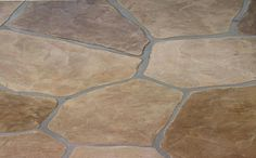 Stamped concrete texture ideas - It can be about time for you to get going boosting the interior designing of your property. Concrete Patios, Flagstone Flooring, Outdoor Flooring, Outdoor Landscaping, Backyard Patio, Stamped Concrete Patterns, Stone Walkway, Driveway Pavers, Stained Concrete