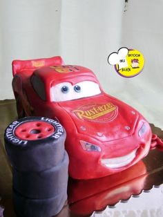 Cars - Mc Queen By cenerina76 on CakeCentral.com