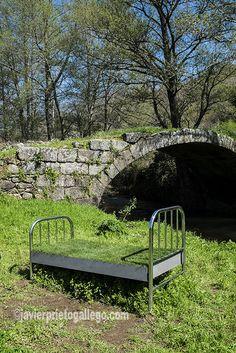 Sierra, Outdoor Furniture, Outdoor Decor, Garden Bridge, Spain, Outdoor Structures, Nature, Travel, Geography