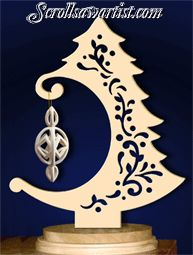 Scroll Saw Patterns :: Holidays :: Christmas :: Trees :: Ornament tree #1 -