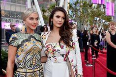 Julianne Hough and Nina Dobrev at American Music Awards 2015 | POPSUGAR Celebrity