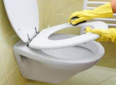 How to Clean Stains on Plastic Toilet Seats Toilet Cleaning, Deep Cleaning, Cleaning Hacks, Urine Stains, Tub, Household, Plastic, Shower, Bathroom