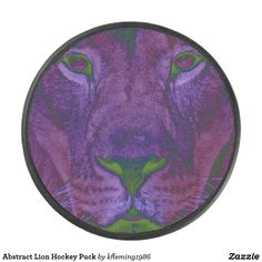 Shop Abstract Lion Hockey Puck created by Personalize it with photos & text or purchase as is! Hockey Gear, Hockey Puck, A Team, Lion, Seasons, Abstract, Leo, Summary, Seasons Of The Year