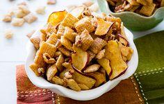 Gluten Free Caramel Apple Chex Mix