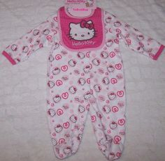 hello kitty baby clothes
