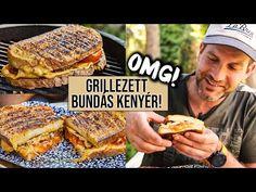 OMG! Grillezett BUNDÁS KENYÉR fűszeres sertésszűzzel 🔥 - YouTube Ale, French Toast, Grilling, Breakfast, Kitchen, Beverages, Street, Food, Youtube