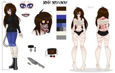 Kaite Massacre {OLD REFERENCE} by TricksterWicked on DeviantArt