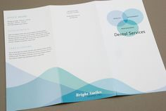 Family Dentist Brochure Template by Maggie Taurick