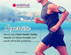 Check out the benefits of regular exercise and physical activity that is important part of a healthy lifestyle. For more details Visit : http://www.europlak.in/ #Exercise #HealthBenefits