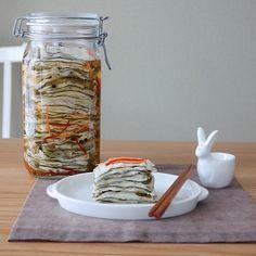 Korean Food, Easy Cooking, Mason Jars, Salad, Recipes, Korean Cuisine, Recipies, Mason Jar, Salads