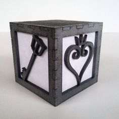 Kingdom Hearts light box by BurntPixels on Etsy More