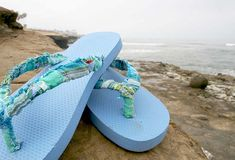 altered flip flops - fun!