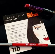 how to recreate mrs mia wallace s dark edgy look sephora urbandecay pulpfiction hair. Black Bedroom Furniture Sets. Home Design Ideas