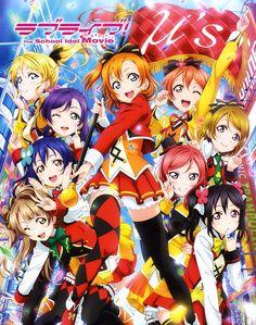 La versión Blu-ray de la película Love Live! The School Idol Movie a la venta el 15 de Diciembre.