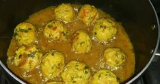 Great recipe for Chicken Meat Balls With Spicy Curry...