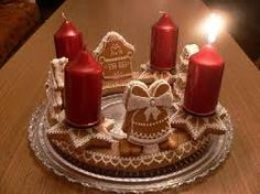 Výsledek obrázku pro vánoční ozdoby ze slaného těsta Birthday Candles, Christmas, Xmas, Navidad, Noel, Natal, Kerst