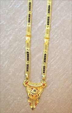 Traditional long mangalsutra