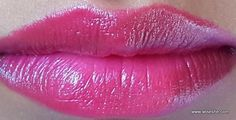 Maybelline ColorShow Lipstick 112 Fuchsia Fantasy Review and Swatches
