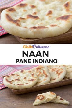 Naan - basic recipe for the Indian flatbread Food C, Love Food, My Favorite Food, Favorite Recipes, Bread Recipes, Cooking Recipes, Chapati, Easy Eat, Tasty