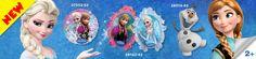 Colección de #globos de Frozen de Disney