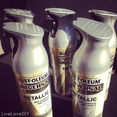 LiveLoveDIY: Paint Colors & Products: my favorite spray paint and more! (silver metallic spray paint for bedroom lamps)
