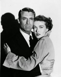 "Paula Raymond & Cary Grant in "" Crisis """